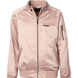 Soft pink Members Only Jacket